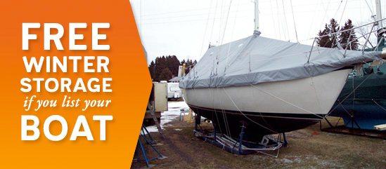 free boat storage